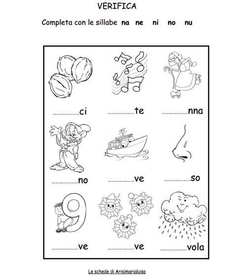 lettere fi il sito di arisimarialuisa schede lettere e sillabe http