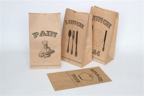 printable paper bags print your own brown paper lunch bags