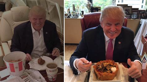 donald trump food live and let diet trump s love of beef and fast food
