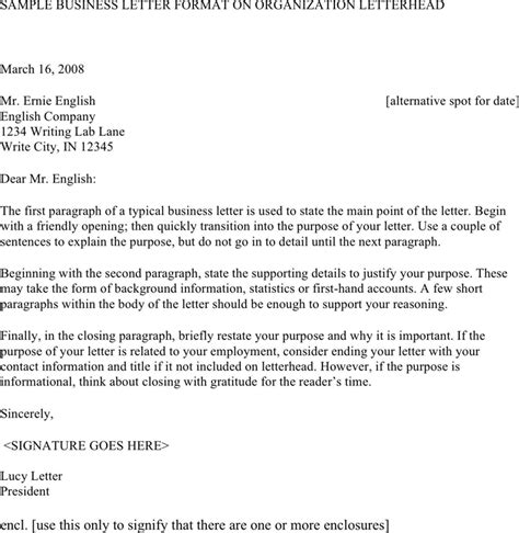 business letter template software professional business letter template for free