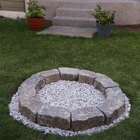 diy pit small diy backyard pit build it in just 7 easy steps