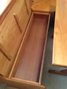 built in nook bench pdf plans built in breakfast nook bench plans download log