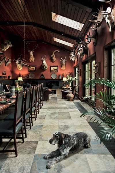hunting room decor hunting lodge interior design and decor blending urban
