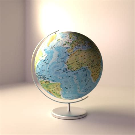Kaos Globe Original 14 3d globe model