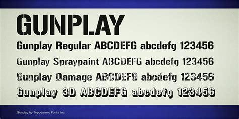 dafont spray paint gunplay font dafont