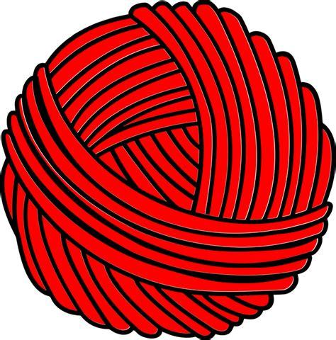 clipart yarn ball yarn knit 183 free vector graphic on pixabay