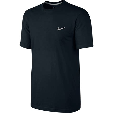 Tshirt Nike nike t shirt swoosh schwarz www unisportstore de