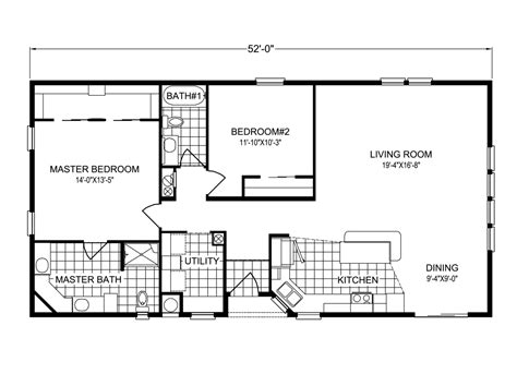 key biscayne tl28522a manufactured home floor plan or