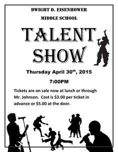 Free Printable Talent Show Flyer Template talent show flyer template cliparts co talent show