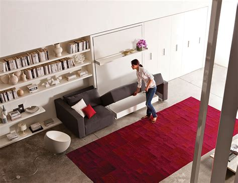 murphy bed sofa systems transformable murphy mattress methods that save