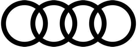 audi logo black and white audi rings logo png pixshark com images galleries
