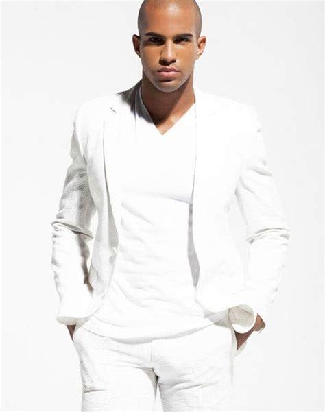 Original Gq Mens Casual Sleeve Kemeja Shirt White Purple 4zrvid a gentlemen in all white attire by lediedrabaldwin all whie s