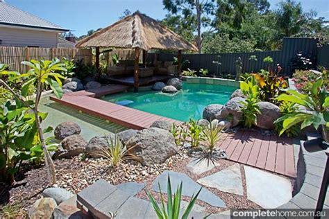 Backyard Resort Ideas Backyard Escape Completehome