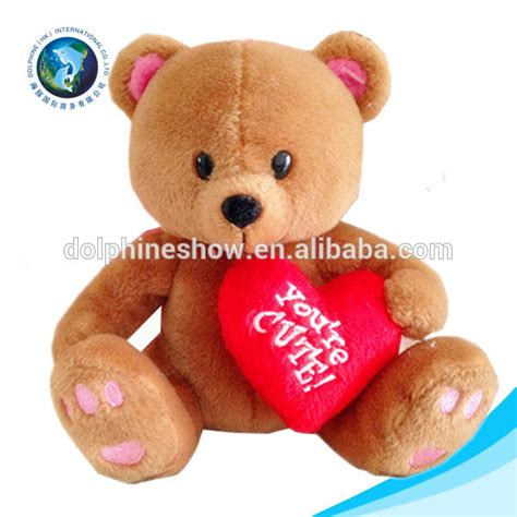 cheap valentines day teddy cheap plush teddy with stuffed white