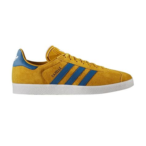 bb5258 adidas shoes gazelle yellow blue white 2017 men leather nuevo ebay
