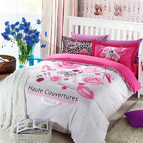 paris bedding set haute couvertures paris rose 5pcs bedding set ebeddingsets