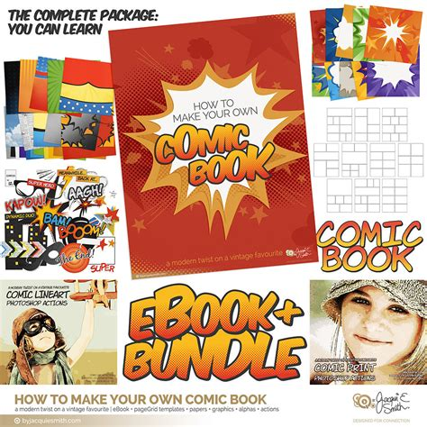 how to make your own doodle book comic book ebook and graphics bundle make your own comic
