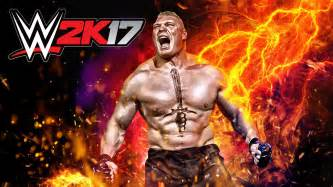 brock lesnar announced as cover star for wwe 2k17