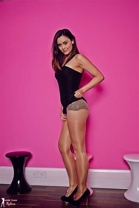 Zahira Set Inner Black more than nylons galleries photos black and pink minx