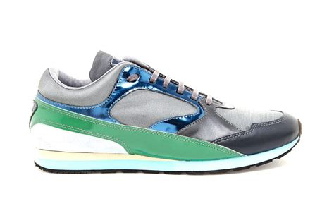 raf simons contrasting leather suede and mesh sneakers hypebeast