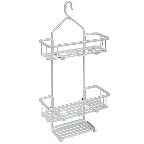 bed bath beyond shower caddy titan 174 neverrust 174 aluminum slat shower caddy bed bath