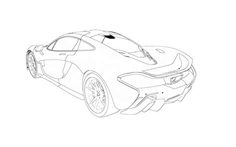 mclaren drawing the mclaren p1 scion fr s forum subaru brz forum