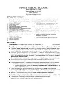 Semiconductor Process Engineer Sle Resume by Steve Resume