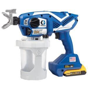 graco tc pro  airless paint sprayer   home