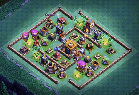 layout of coc level 7 top 10 best builder hall 7 bases anti everything 5000