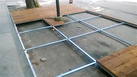 pedane da giardino pedane per dehor modulari da esterno