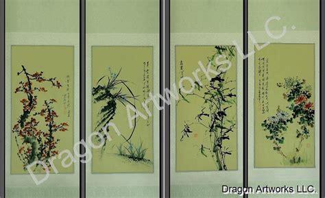 Noble Chrysanthemum plum blossoms orchid bamboo chrysanthemum noble