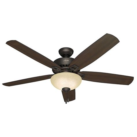 hunter 60 inch fan hunter groveland 60 in indoor premier bronze ceiling fan