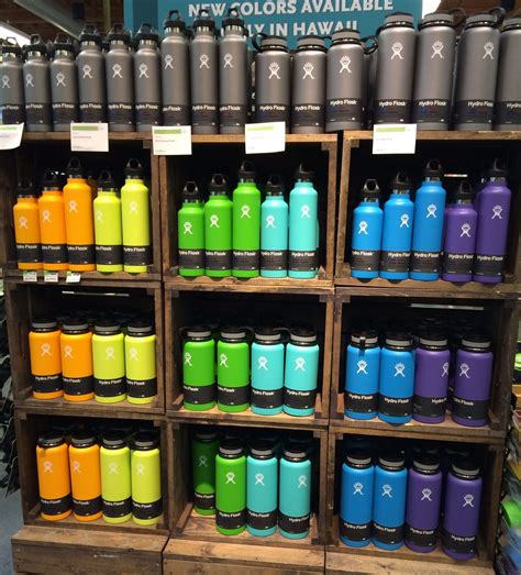 hydroflask colors hydro flask cups mugs colors mouths and hawaii