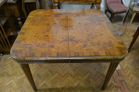 tavoli antichi quadrati tavolo quadrato allungabile il tempo dei ricordi