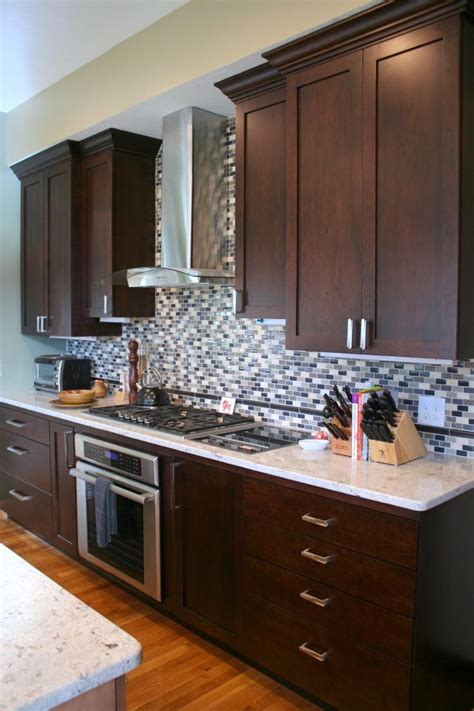 kitchen backsplash height beautiful shaker style cabinets with height tile
