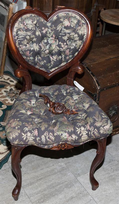Kimball Upholstery Victorian Heart Chair