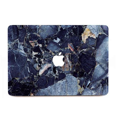 Macbook Aufkleber Marmor by Blau Marmor Macbook Skin Aufkleber