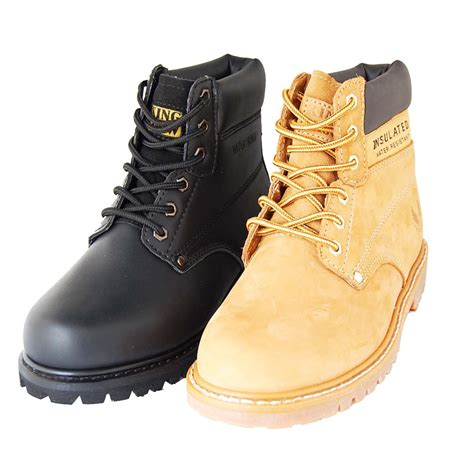 american 6 quot genuine leather work boot outdoor shoes for