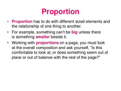 design definition of proportion basic design principles
