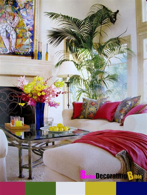 palm tree decor for living room 1000 images about colorful family rooms on ottomans living rooms and wall colors