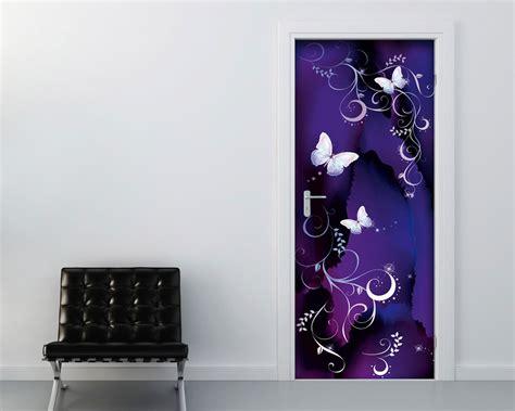 adesivi murali per porte delicate farfalle con decori decori adesivo per porte
