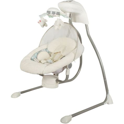baby swing high chair childcare my little cloud cradle baby swing chair buy