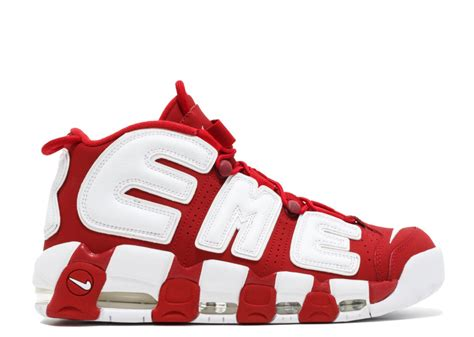 nike air supreme air more uptempo quot supreme quot varsity white flight club