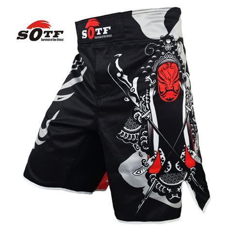 sotf mma shorts boxing muay thai boxing trunks tiger muay