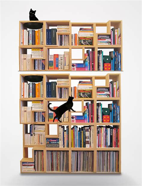 designer bookshelves 33 creative bookshelf designs bored panda