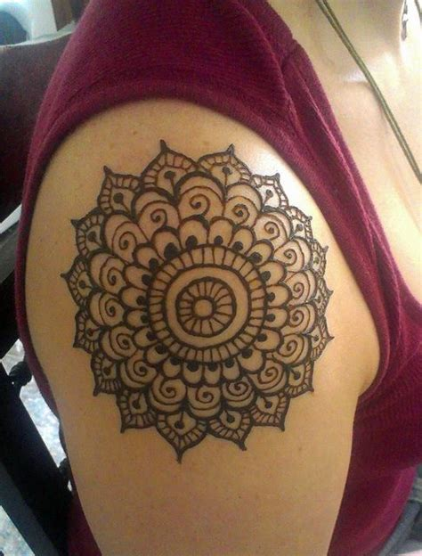 shoulder mehndi designs    love