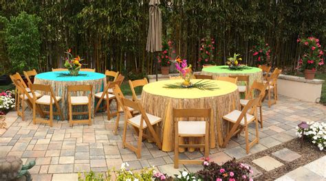Backyard Designer thistle dew floral amp event design 187 tropical themed party