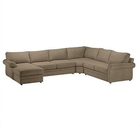 wedge sectional pearce right 4 piece chaise with corner wedge sectional