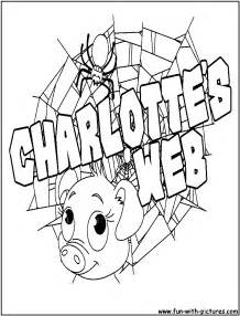 s web coloring pages charlottes web coloring pages free printable colouring
