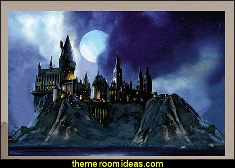 Harry Potter Wall Mural decorating theme bedrooms maries manor harry potter